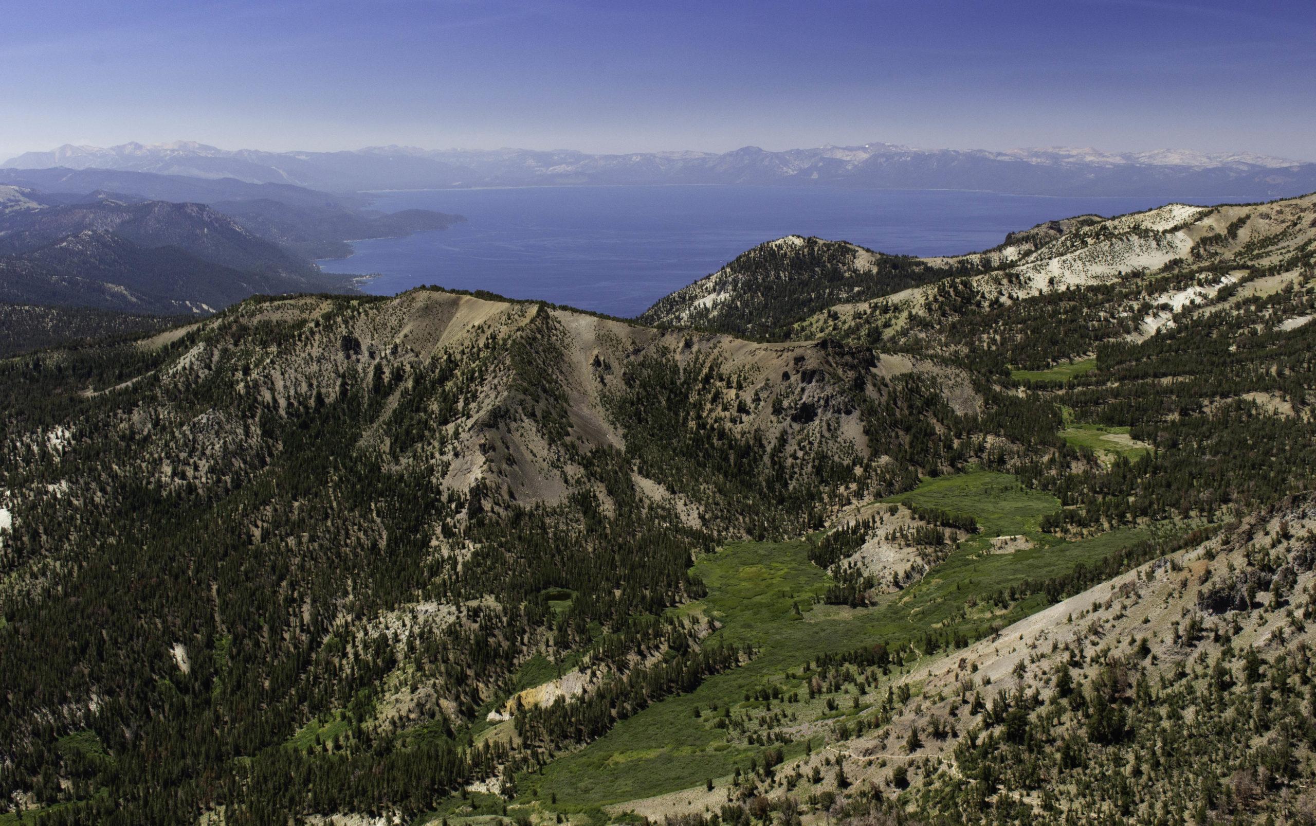 Lake Tahoe:  June – July 2021